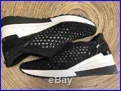 Beautiful Michael Kors Maloy Trainer Sneaker Embellished Shoes Size 10 New