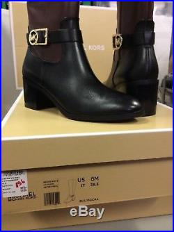 MICHAEL KORS Bryce Leather Waterproof 14 Inch Womens Boots, Size UK 5.5 /EU 38.5