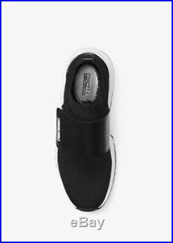 MICHAEL KORS COSMO Knit Slip On Trainer Sneakers size 8 M