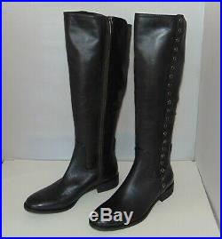 MICHAEL KORS Dora tall Grommet Side Riding Boots size 7.5 New