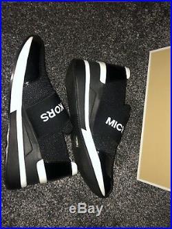 MICHAEL KORS FELIX SCUBA AND MESH TRAINERS Size 5 UK