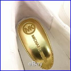 MICHAEL KORS Keaton Kiltie Sneaker Halbschuh Damen Schuhe Gr. 8M EU 38,5 Weiß La