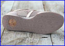 MICHAEL KORS Maggie Trainer 6. 8, 8.5, 9, 10 Fashion Sneaker Rose Gold Soft Pink