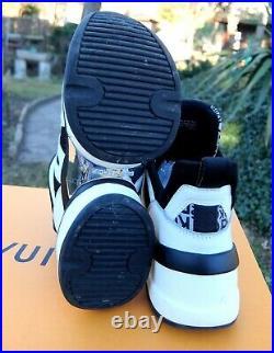 MICHAEL KORS SCHUHE 39,5 shoe sneaker sneakers black white 8.5m 8.5 1/2