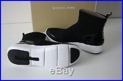 MICHAEL KORS STERLINGS BOOTIE STRETCH KNIT Boots Gr. 36,37,38,39,40 schwarz