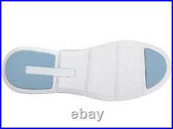 MICHAEL KORS Skyler Knit Trainer Sneakers Shoes Aluminum/Silver Size 10