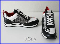 MICHAEL KORS Sneakers MADDY TRAINER aus Materialmix Gr. 37,38 39,40 schwarz weiß