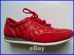 MICHAEL KORS Women's Sneakers Sport Designer Fashion SZ-8.5 RED