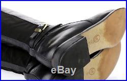 MICHAEL / MICHAEL KORS ARLEY Black Leather Knee High Boots Sz. 11 M $275