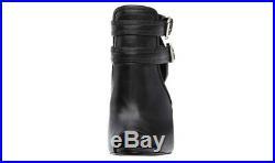 MICHAEL MICHAEL KORS Blaze Open Toe Bootie Women NIB Size 9M Black Leather