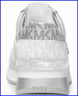 MICHAEL Michael Kors ALLIE Trainer Mini MK Logo Lux Sneakers Shoes