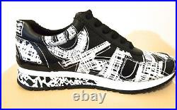 MICHAEL Michael Kors ALLIE Trainer Printed Leather Sneakers Shoes