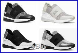 MICHAEL Michael Kors FELIX Logo Slip-On Trainer Sneakers