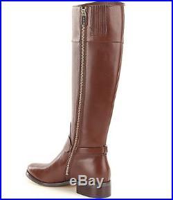 MICHAEL Michael Kors Fulton Harness Tall Riding Boots MOCHA SIZE 10M