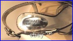 MICHAEL Michael Kors Gabriella Platform Wedge Sandals Shoes, Size 8 1/2M NWT