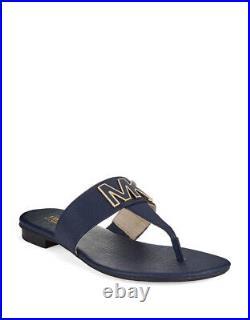 MICHAEL Michael Kors Hayley Leather Thong Flat Sandals