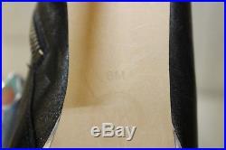 MICHAEL Michael Kors Leather Stiletto Ankle Boots, Women's Size 8 M, Black