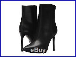 MICHAEL Michael Kors Leona Leather High Heel Booties Mult Sz