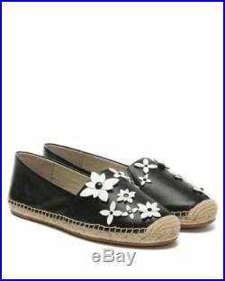 MICHAEL Michael Kors Lola Floral Espadrille Flat Shoes Size 9