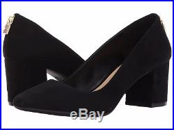 MICHAEL Michael Kors Mira Suede Pump Black Size 9.5