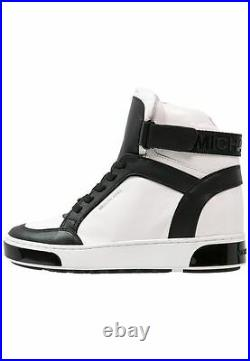 MICHAEL Michael Kors Pia High Top Sneakers Wedge Casual Sport Fashion Shoes