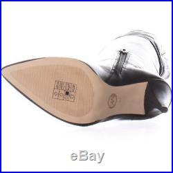 MICHAEL Michael Kors Rosalyn Over The Knee Boots, Black Leather, 7 US / 37 EU