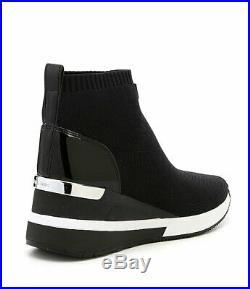 MICHAEL Michael Kors Skyler Wedge Sneaker Booties Size 6