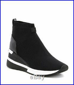 MICHAEL Michael Kors Skyler Wedge Sneaker Booties Size 8