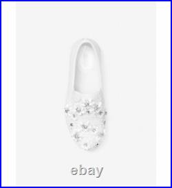 MICHAEL Michael Kors TRENT Floral Sequined Slip-On Sneakers Shoes US 9.0