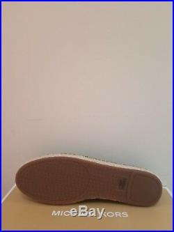 MICHAEL Michael Kors Women's Alexis Perforated Espadrilles Shoes Size 10 NIB