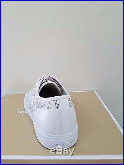 MICHAEL Michael Kors Women's City Sneaker MK Signature Size 8.5 NIB