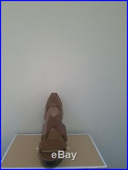 MICHAEL Michael Kors Women's Elena Leather Platform Sandal Size 8 NIB