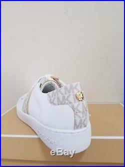 MICHAEL Michael Kors Women's Irving Stripe Lace-Up Sneakers Size 7 NIB