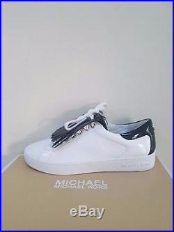 MICHAEL Michael Kors Women's Keaton Kiltie Fringe Lace Up Sneakers Size 7 NIB
