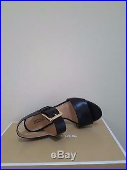 MICHAEL Michael Kors Women's Liz Sandal Leather Size 8.5 NIB