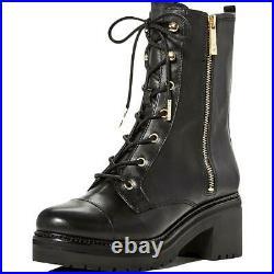 MICHAEL Michael Kors Womens Anaka Black Booties Shoes 7 Medium (B, M) BHFO 6094