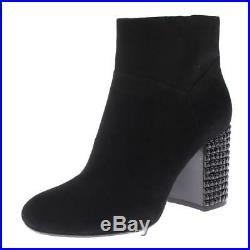 MICHAEL Michael Kors Womens Arabella Black Ankle Boots 7 Medium (B, M) BHFO 9155