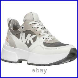 MICHAEL Michael Kors Womens Ballard Leather Dad Sneakers Shoes BHFO 0869