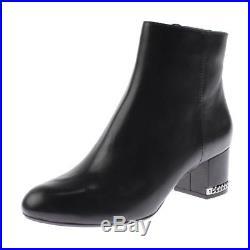 MICHAEL Michael Kors Womens Black Ankle Boots Shoes 8 Medium (B, M) BHFO 8472