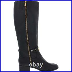 MICHAEL Michael Kors Womens Black Knee-High Boots Shoes 8 Medium (B, M) BHFO 7827