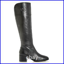 MICHAEL Michael Kors Womens Dylyn Leather Knee High Riding Boots Shoes BHFO 5144