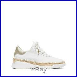 MICHAEL Michael Kors Womens Finch White Sneakers Shoes 7 Medium (B, M) BHFO 4636