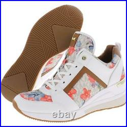 MICHAEL Michael Kors Womens Georgie Leather Fashion Sneakers Shoes BHFO 2227