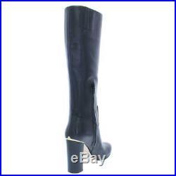 MICHAEL Michael Kors Womens Janice Black Knee-High Boots 11 Medium (B, M) 1950
