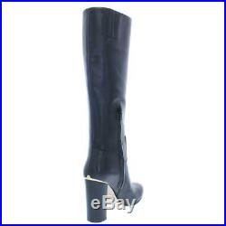 MICHAEL Michael Kors Womens Janice Leather Knee-High Boots Shoes BHFO 7990