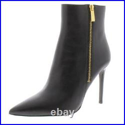 MICHAEL Michael Kors Womens Keke Black Booties Shoes 8 Medium (B, M) BHFO 4025