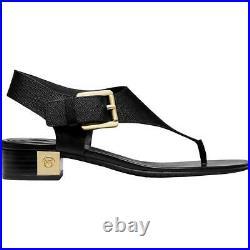 MICHAEL Michael Kors Womens London Leather Thong Heel Sandals Shoes BHFO 7344
