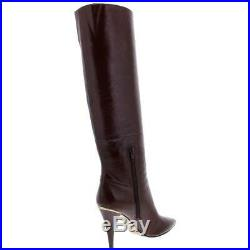 MICHAEL Michael Kors Womens Rosalyn Leather Knee-High Boots Shoes BHFO 0624
