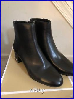 effd5bebe743d MICHAEL Michael Kors Womens Sabrina mid bootie Leather