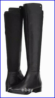 MICHAEL by Michael Kors Bromley Flat Boot Black Womens Shoes 8 Boots